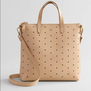 Madewell mini transport leather tote